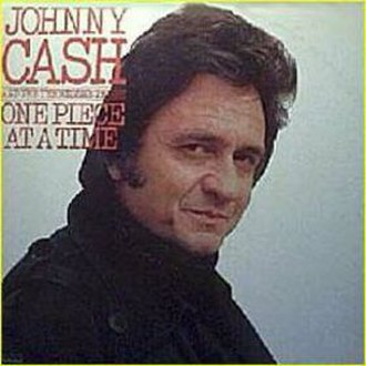 One Piece at a Time (album) - Image: Johnny Cash One Pieceata Time