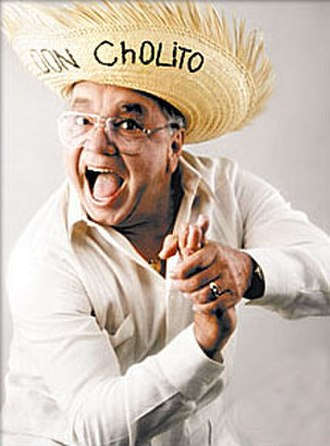 José Miguel Agrelot - Agrelot portraying his iconic character Don Cholito