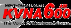KVNA (AM) - Last logo under News/Talk format