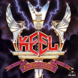 The Right to Rock - Image: Keel The Right To Rock