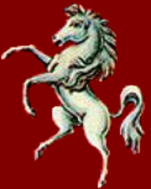Kent Rugby Football Union - Image: Kent horse