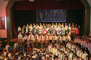 King George V School (Hong Kong) - KGV School Hall – Speech Day 2001