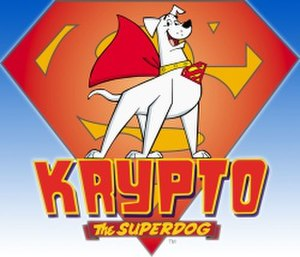 Krypto the Superdog - Image: Krypto the Superdog title card