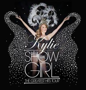 Showgirl: The Greatest Hits Tour - Promotional poster for tour