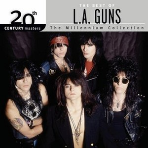 20th Century Masters – The Millennium Collection: The Best of L.A. Guns - Image: LA Guns 20th
