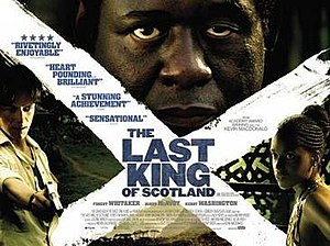 The Last King of Scotland (film) - UK theatrical release poster