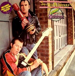 """Laverne & Shirley - """"Lenny and the Squigtones"""" (1979) cover"""