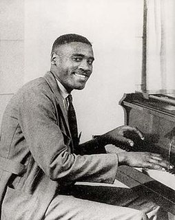 Leroy Carr American blues singer, songwriter and pianist