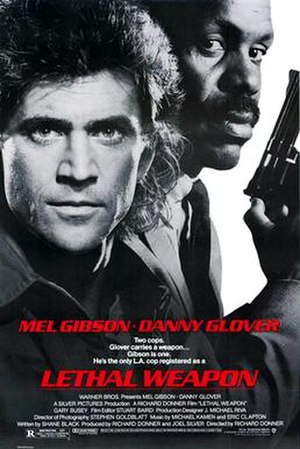 Lethal Weapon - Theatrical release poster