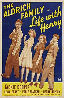 <i>Life with Henry</i> 1941 film by Theodore Reed