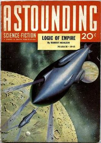 "Logic of Empire - ""Logic of Empire"" was originally published in the March 1941 issue of Astounding Science Fiction."