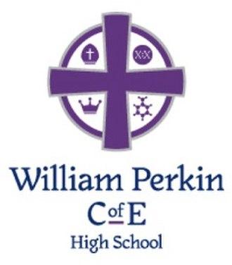 William Perkin Church of England High School - Image: Logo for William Perkin Cof E High School in Greenford