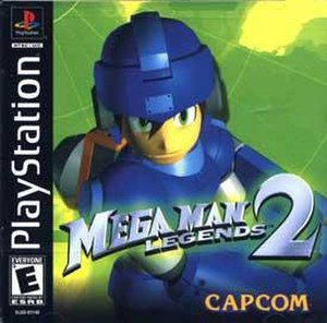 Mega Man Legends 2 - North America PlayStation Box Art