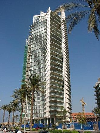Economy of Lebanon - Marina Towers, Beirut