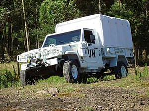 United Nations Mission in Haiti - A Marruá truck of the Argentine contingent