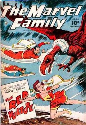 Mary Marvel - Image: Marvel family 78