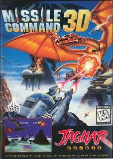 <i>Missile Command 3D</i> 1995 video game