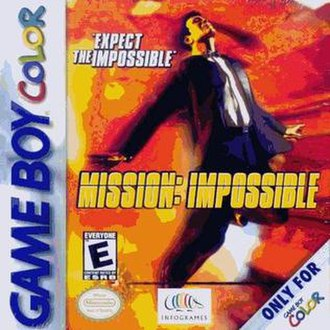 Mission: Impossible (2000 video game) - North American cover art