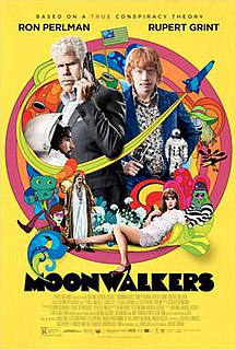 <i>Moonwalkers</i> (film) 2015 French comedy film by Antoine Bardou-Jacquet