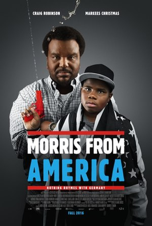 Morris from America - Film poster