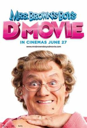 Mrs. Brown's Boys D'Movie - Theatrical release poster