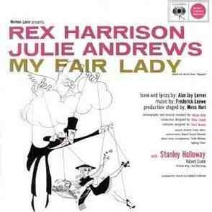 My Fair Lady (Broadway cast recording) - Image: My Fair Lady Cast Recording