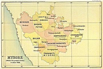 Political history of Mysore and Coorg (1565–1760) - Wikiwand on delhi map, mangalore map, karnataka map, biratnagar map, munnar map, dhar city map, anjuna beach map, bombay map, madras map, agumbe map, bengal map, hyderabad map, satpura map, bangalore map, kerala map, kashmir map, india map, tamil nadu map, chennai international airport map, calcutta world map,