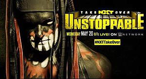 NXT TakeOver: Unstoppable - Promotional poster featuring Finn Bálor