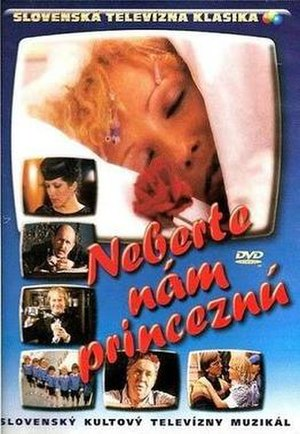 Neberte nám princeznú - The cover of DVD release