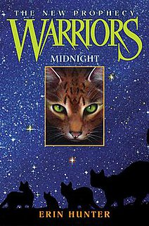 <i>Midnight</i> (Hunter novel) book by Erin Hunter