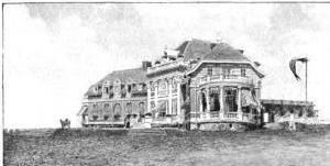 Newport Country Club - Newport Country Club Clubhouse, ca. 1897