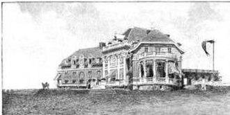 Newport Country Club - Newport Country Club Clubhouse, ca. 1897