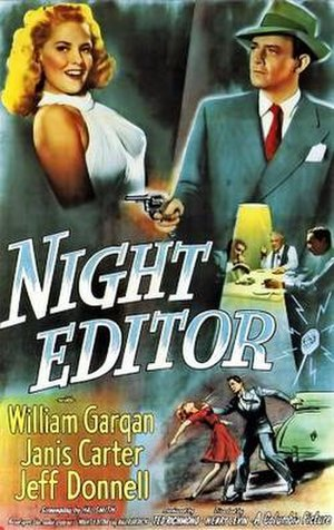 Night Editor - Theatrical release poster