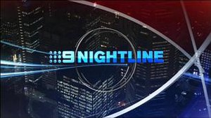 Nightline (Australian news program) - Image: Nightline 09