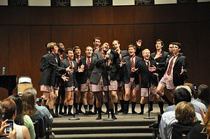 Collegiate a cappella - American University's On a Sensual Note