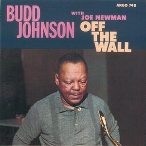 Off the Wall (Budd Johnson album) - Image: Off the Wall (Budd Johnson album)