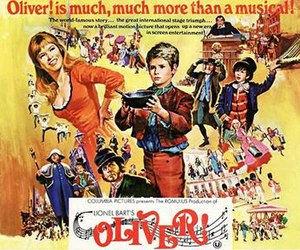 Oliver! (film) - Theatrical release poster by Howard Terpning