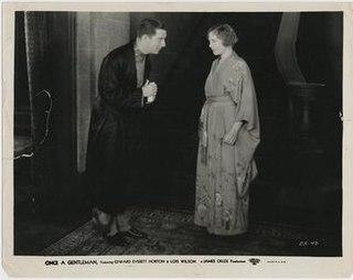 <i>Once a Gentleman</i> 1930 film by James Cruze