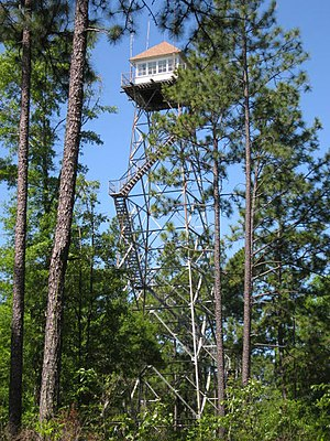 Conecuh National Forest - Open Pond Fire Lookout Tower