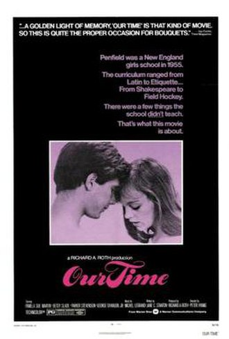 Our Time (1974 film) - Image: Our Time Film Poster