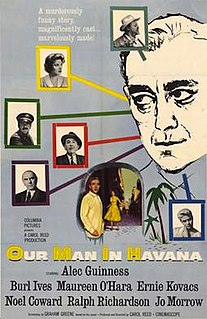 <i>Our Man in Havana</i> (film) 1959 film by Carol Reed