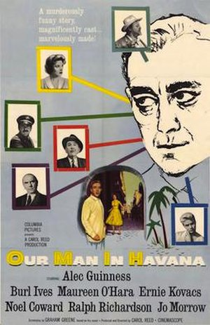 Our Man in Havana (film) - theatrical poster
