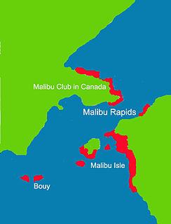 Malibu Rapids (British Columbia) river in Canada