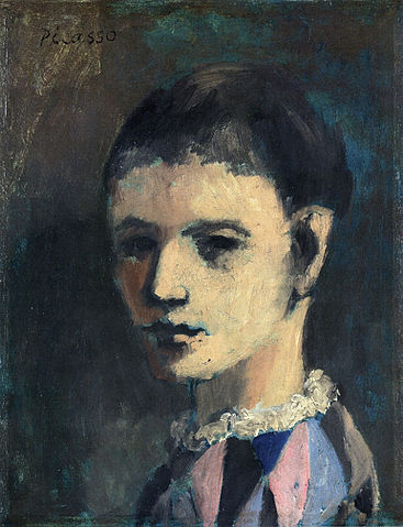 File:Pablo Picasso, 1905, Arlequin (Harlequin\'s head), oil on ...