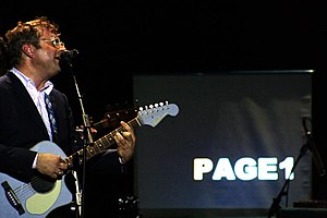 Steven Page - Page during his tour for Page One.