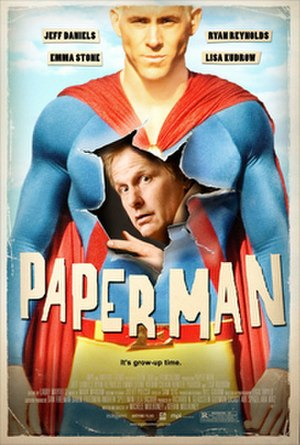 Paper Man (2009 film) - Theatrical release poster