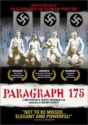 Paragraph 175 (film) - Image: Paragraph 175filmdvdcover