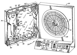 Chart recorder - A circular chart recorder