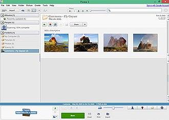Picasa - Image: Picasa 3.9