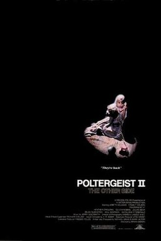 Poltergeist II: The Other Side - Theatrical release poster